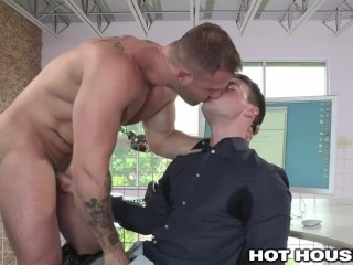 HotHouse Office Huge Cock Hookup