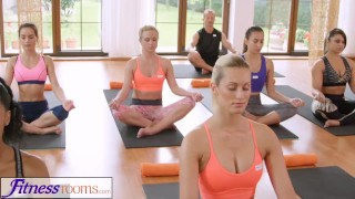 FitnessRooms Groups yoga session ends with a sweaty creampie  oal sex teen yoga pants tight-yoga-pants yoga yoga-class yoga-pants bisexual fitnessrooms internal-cumshot 3some babes creampies yoga porn yoga threesome sex in yoga sweaty-sex