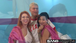 Drilled bouncing get asses shaking bangcom bunch of big and anal big