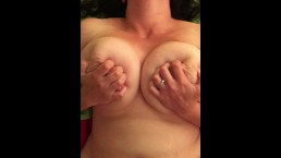 Fucking my wife hard with cum shot