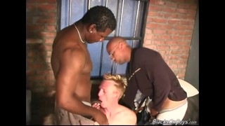 Preview 5 of White guy gets fucked in the prison by blacks