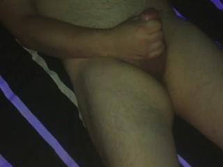 jerking my hot dick