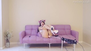 Girl cosplay anal cherry compilation sex bjs crush machine girl machine fuck