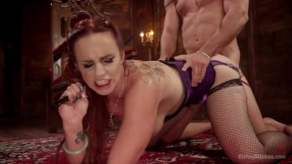 Bella Rossi Femdom  big tits pegging bdsm cuckold redhead femdom toys divinebitches milf kink bondage stockings foot worship dungeon fishnet divine bitches