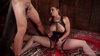 Bella Rossi Femdom  big tits bdsm cuckold redhead femdom dungeon toys kink stockings foot worship fishnet divinebitches divine bitches milf pegging bondage
