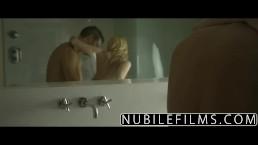 NubileFilms - Hardcore cock ride for petite blonde