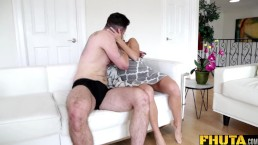 Fhuta - Having fun with Megan Rain's ass hole