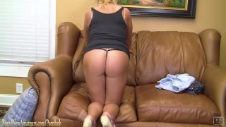 Brandnewamateurs takes old casting dick couch on  year at sex girl