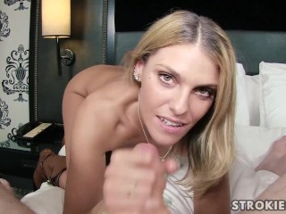 Dom fem fetish hand job