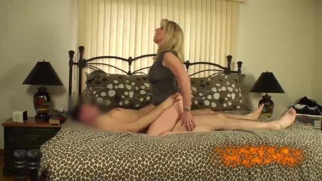 Wife held down