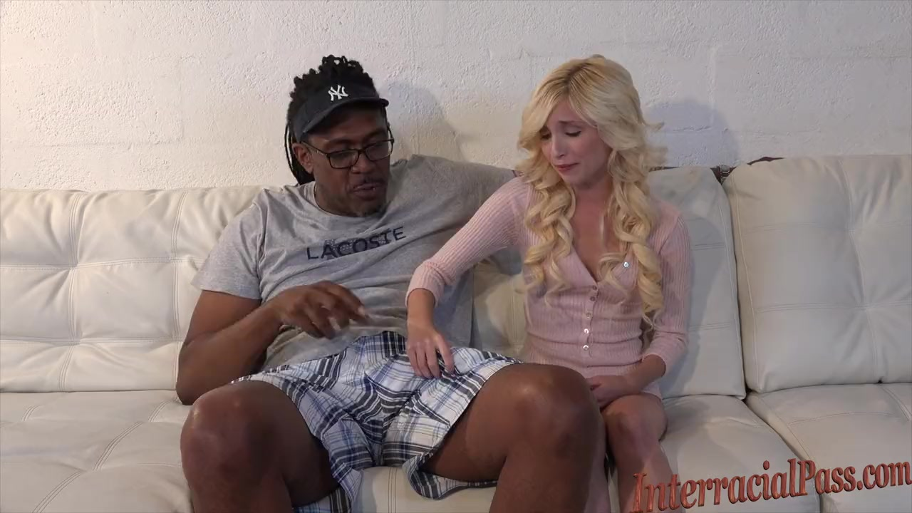 80lb blonde takes on 12 inch biggest black cock 9
