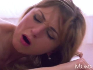 MOM Intense romance for hot blonde mom