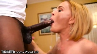 Throated Krissy Lynn In Love With Mo's BBC