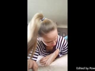 Brianna Blows Daddy