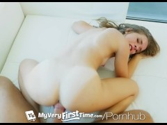 MyVeryFirstTime - Flexible cheerleader Lily Ford first ever porn scene