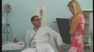 Doctor Fingers Her Patient