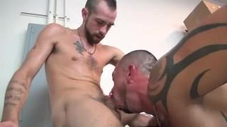 Hot Raw Work Break Dick style
