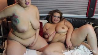 Latina BBW Sinful Celeste Asian BBW Miss LingLing Lesbo Fun  big boobs plumperpass chubby bbw big tits
