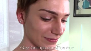 Gaycastings lennox gray porn goes anal audition for sucking anal