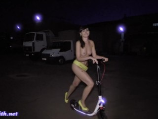 Jeny Smith Yellow Heels