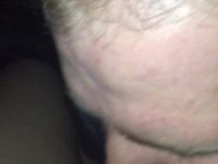 Straight latino cums in 2 minutes after being almost caught