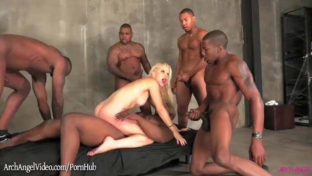 Watch free hentai videos in flash - Interracial anal gangbang on blonde ashley fires