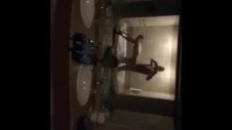 Drunk Str8 Guy Fucks His Twink Buddy In Hotel Bathroom