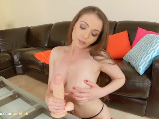 Masturbation alone with superhot Zara from Give Me Pink