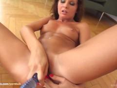 Give Me Pink presents Kissy in hot solo masturbation scene