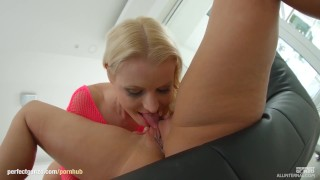 Rozalina gets a creampie after sex at All Internal