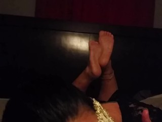 Robbysworld pov playtime with masked bbw latina