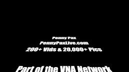 Penny Pax Masturbates In White Lingerie!