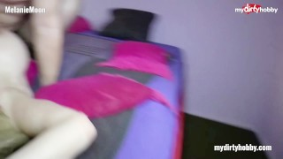 Milf melaniemoon zum my hobby reinwixen dirty stockings blowjob