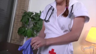 Nurse Penny Pax is at your service Blowjob tits