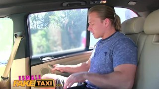 FemaleFakeTaxi Businessman strikes sexual deal with horny driver  taxi oral-sex pussy-licking hd sexy car-sex amateur blowjob cumshot hardcore cowgirl orgasm femalefaketaxi cab