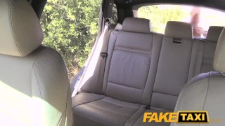 FakeTaxi Cute customer with natural tits  big-cock babe cock-sucking creampie outside oral point-of-view blowjob hot camera spycam car czech shaved prague faketaxi