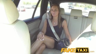 FakeTaxi Cute customer with natural tits  big-cock babe cock-sucking creampie outside oral point-of-view blowjob prague hot camera faketaxi spycam car czech shaved