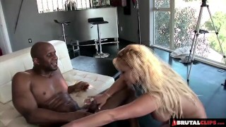 BrutalClips Big boobed Tyla uses her luscious body to make a sale