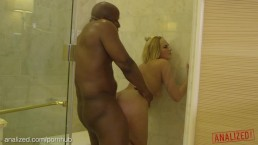 ANALIZED - Kate England's Ass Punished By Huge Black Cock