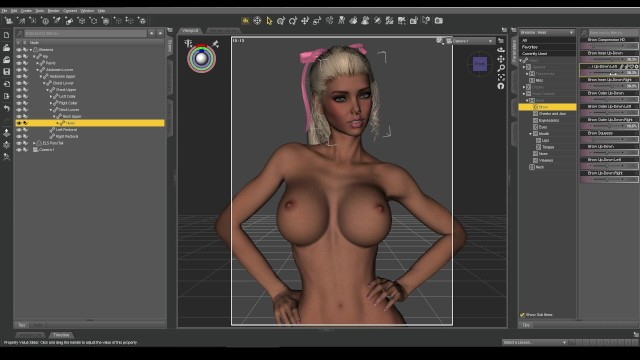 Affect3D Tutorial Series Daz 3D Facial Expressions And -7809