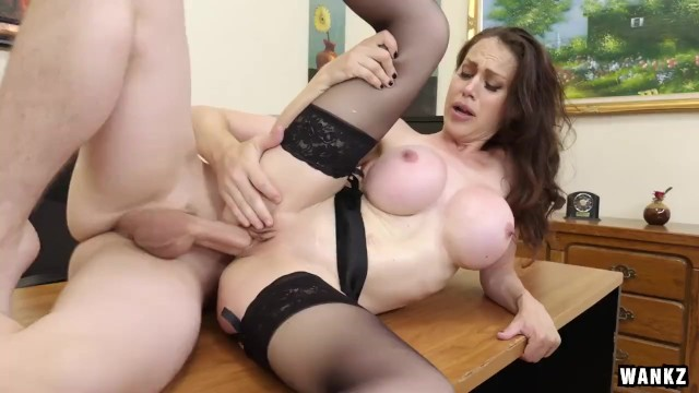 Mckenzie lee hardcore Huge titty cougar boss mckenzie lee cums hard