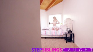 Slutty for sis stepsiblingscaught practice dick my step uses step deepthroat