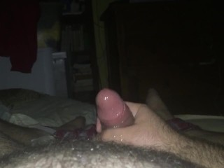 My first time filming masturbation