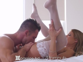 Preview 5 of Passion-HD - Kendall Kayden puts on lingerie for her pussy lover bf