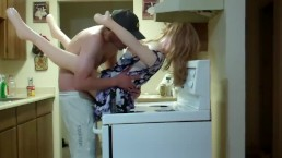 Step MOM in Kitchen-Fantasy