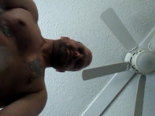 Big cumshot after strokin my cock