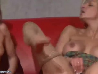Porn movie hardcore vids free blonde chair tied bdsm kink girl ballgagged bondage big tits bondage