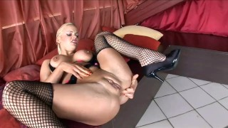 Busty Britney fucked in stockings and high heels Fitness big