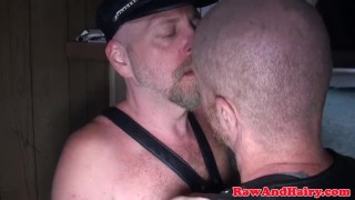 Polar bear anal fingered and rimmed in cabin Masturbation hunk