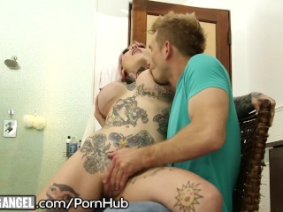 Mom Gives Sons Friend A Blowjob BurningAngel Curvy Step - Sister Loves fucking bokep video